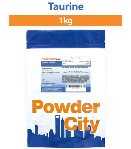 Taurine Supplement Powder 1 Kilogram