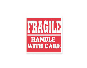 """Fragile Handle With Care"" Stickers"