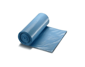 Plastic Trash Liners Blue (100)