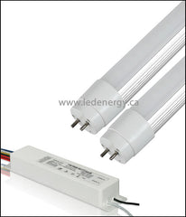 347V T8 Tube/Driver Sets - 2 x 4ft.(36W) LED HO (High Lumen Output) Tubes + Driver G13 Base