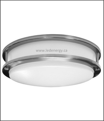 "LED Lite Fixture Series - LED 12"" Double Ring Ceiling Light, Energy Star Approved"