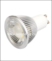 Spot Light Series - 5W High Lumen LED Lamp GU10 D1 Base 120V Dimmable