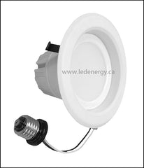 Down Light Series -  9W 4in LED Lamp E26 Base, 100-277V Dimmable