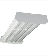 LED High Bay Fixture Series - 4 Ft. High Bay with 4-Self driving Led T8 tubes