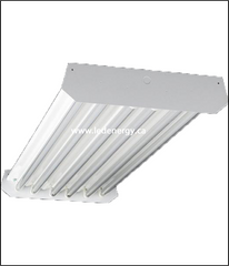 LED High Bay Fixture Series - 4 Ft. High Bay with 6-Self driving Led T8 tubes