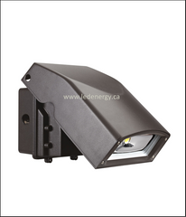 LED Wall Pack Series - 40W LED Full Cutoff Wall Pack Lamp, 100-277/347V