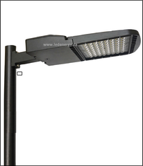 LED ShoeBox Series - 100W LED ShoeBox Lamp, 120-277, 347V, DLC Qualified