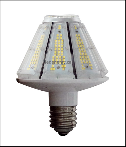 Corn Bulb Series - 30W LED Corn Bulb Lamp Type A E26/E40 Base 100-300V DLC Approved