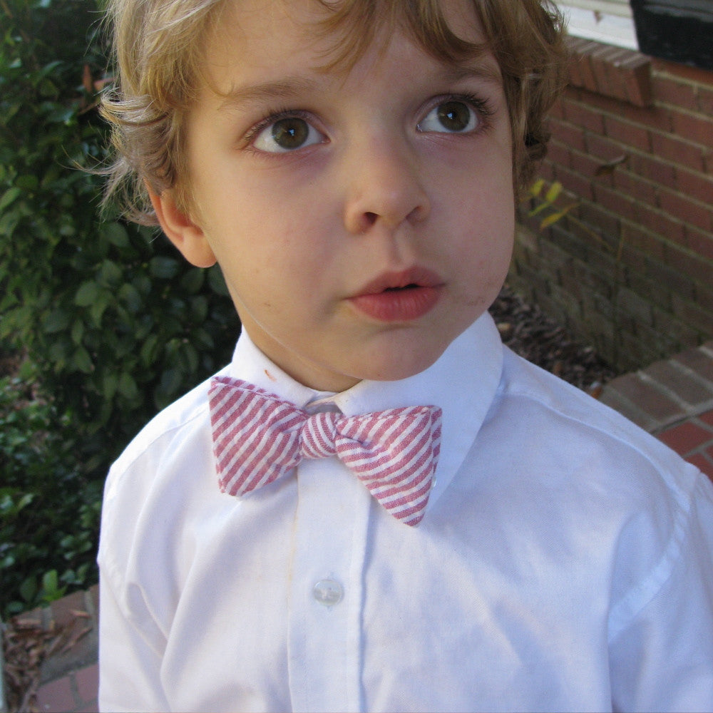 Items similar to Modern Boys Bowtie - Blue, Red and White ...  |Bow Ties For Boys
