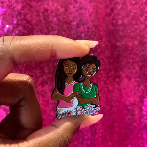 Pretty Girl Enamel Pin