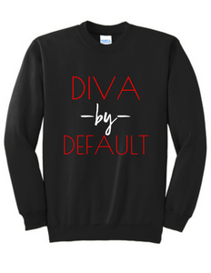 By Default Sweatshirt Red
