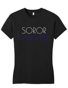 Soror Daughter Tee Blue