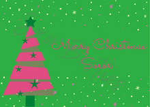 Load image into Gallery viewer, Soror Besties Christmas Card Set