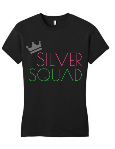 Silver Squad Tee
