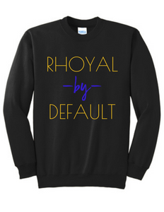 By Default Sweatshirt Gold