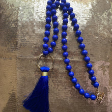Load image into Gallery viewer, Rhoyal Tassel Necklace