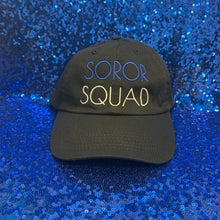 Load image into Gallery viewer, Soror Squad Cap Blue