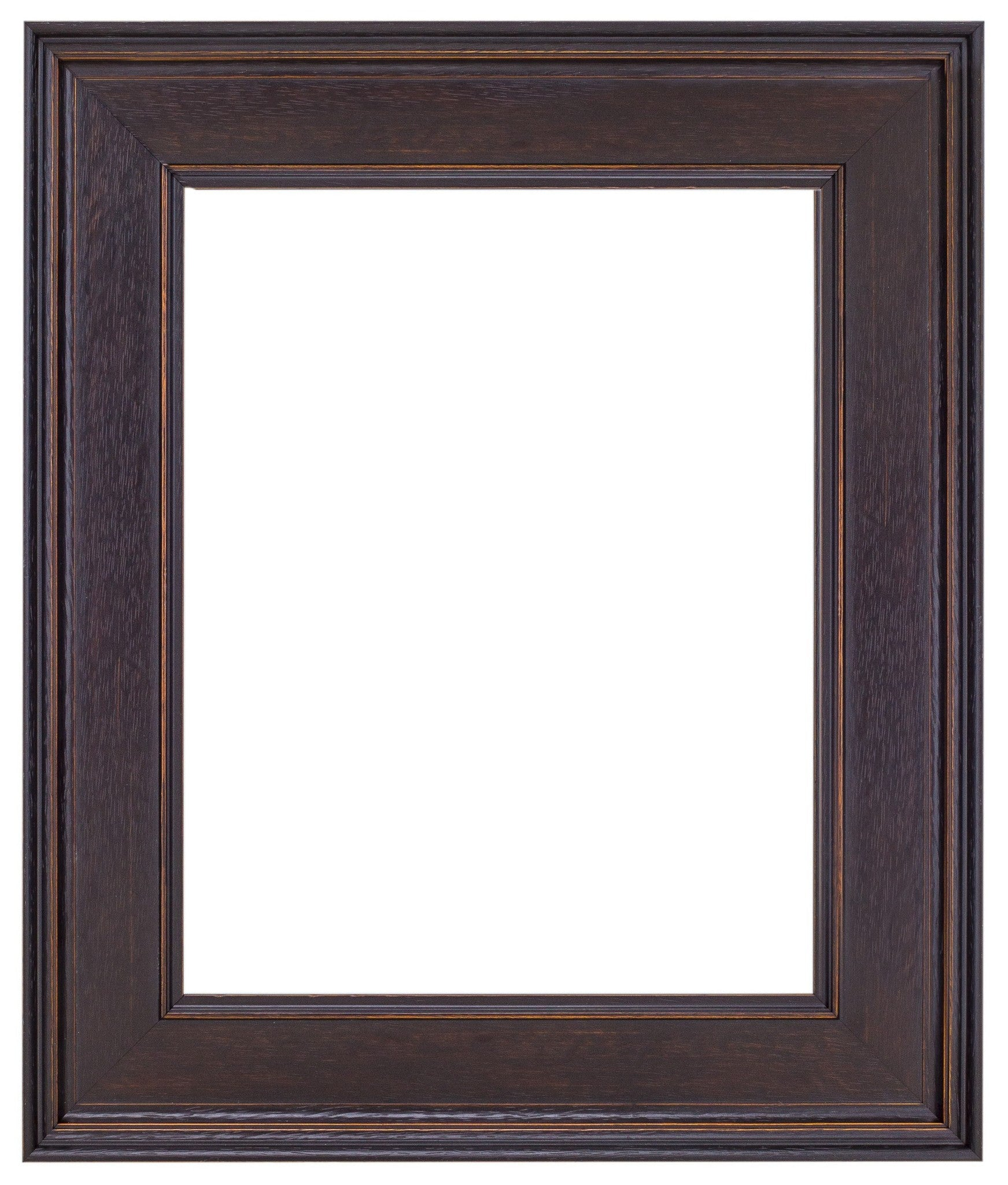 Dark Walnut Stain Wood Frame - Wholesale Frame Company