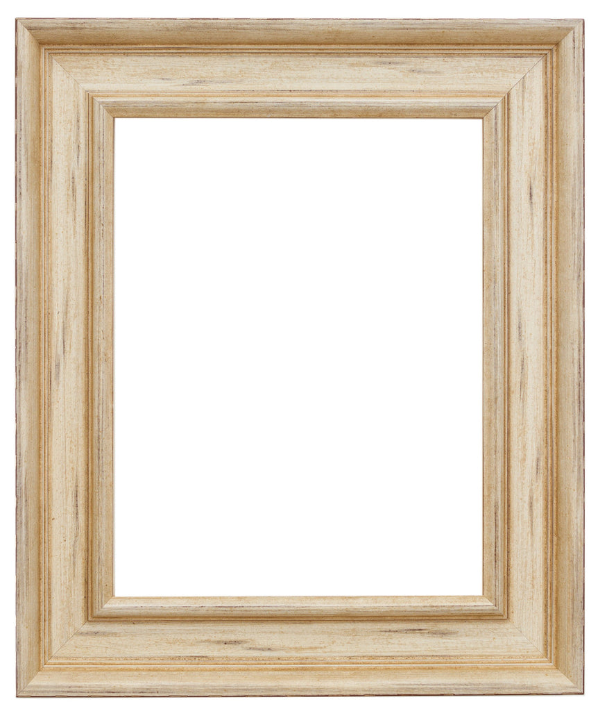 Antique, white, frame, wood, wax finish, wholesale, artist frame