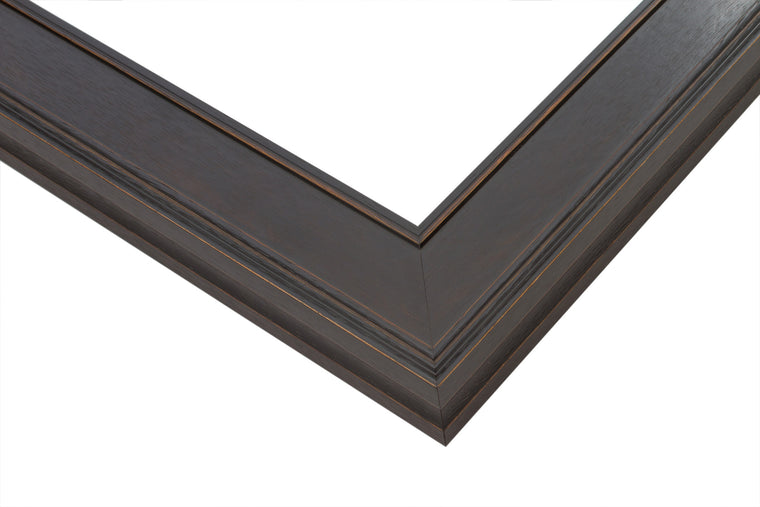 Dark Walnut Stain Wood Frame, Wholesale Artist Frame