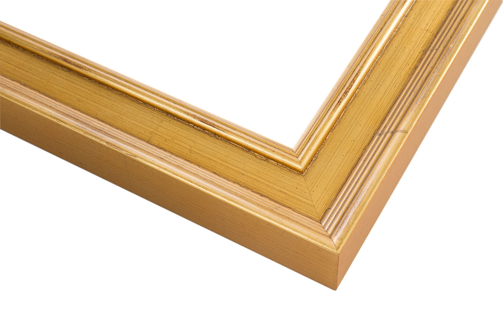 Traditional Gold Metal Leaf Frame