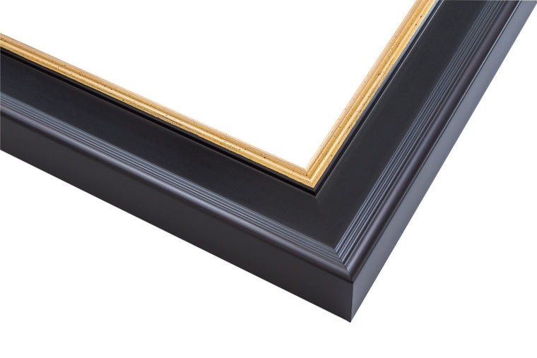 traditional, black, gold fillet, plein air, wholesale, artist frame