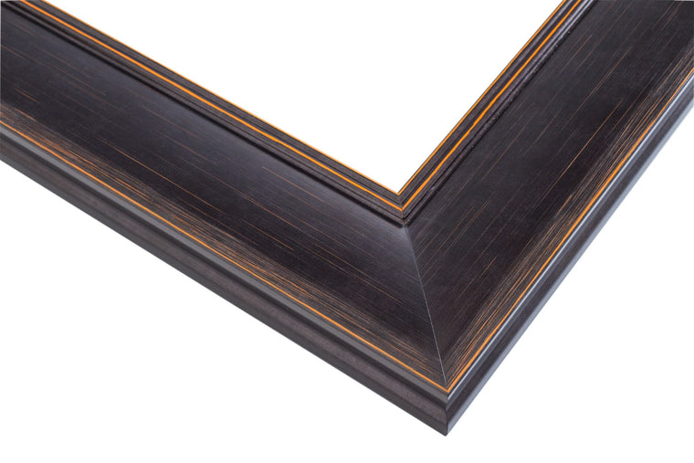 Black Frame with Burnt Umber Highlights, Artist Frame
