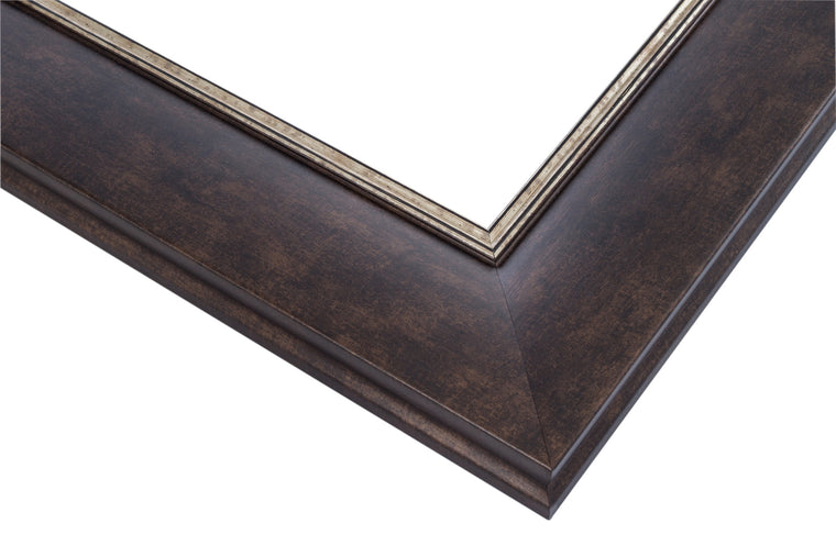 oiled bronze, silver lip, wholesale, artist frame