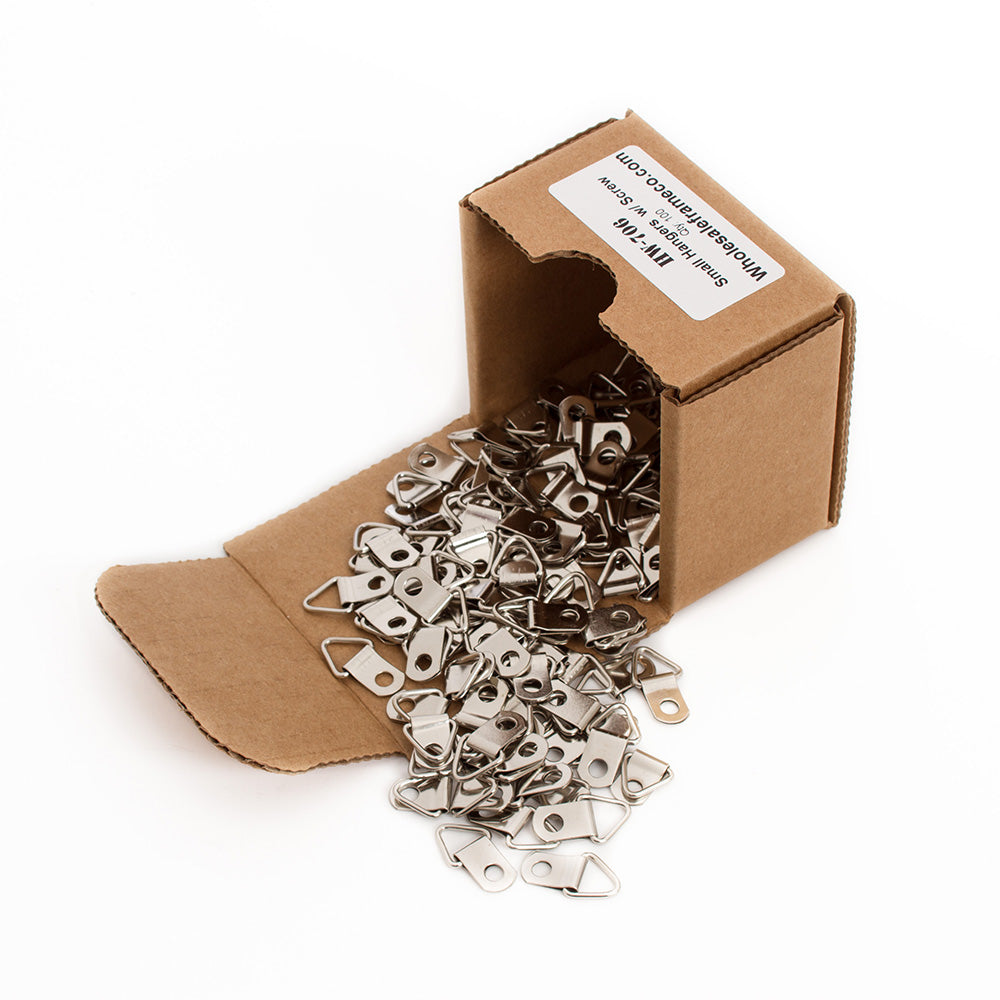 100 Count Small Hangers w/ Screws