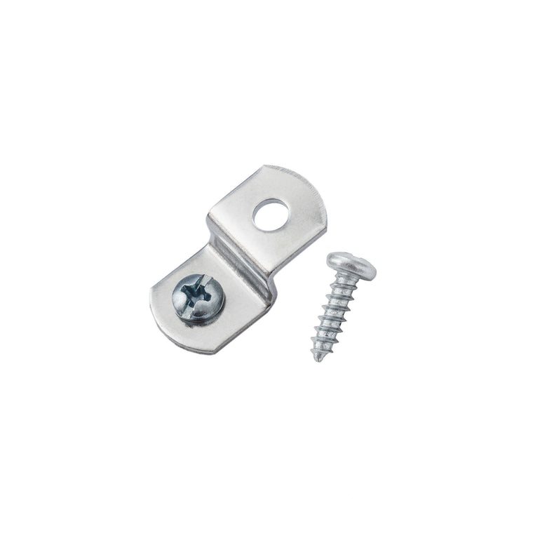 "1/4"" Offset Clips w/ Screws, Picture Frame Hardware"