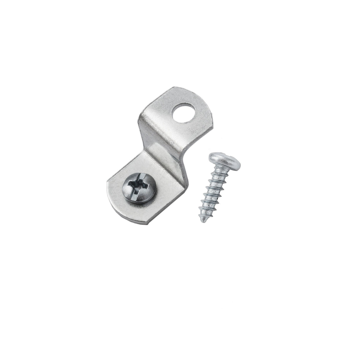 "1/2"" Offset Clips w/ Screws, Picture Frame Hardware"