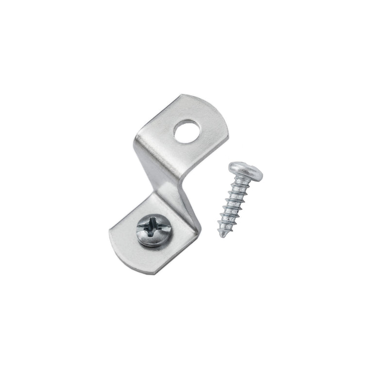 "3/4"" Offset Clips w/ Screws, Picture Frame Hardware"