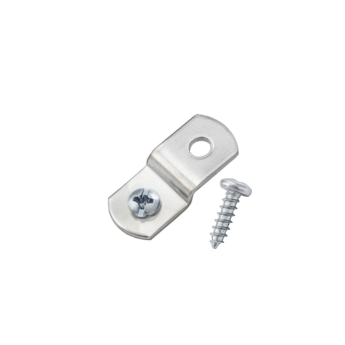 "1/8"" Offset Clips w/ Screws, Picture Frame Hardware"