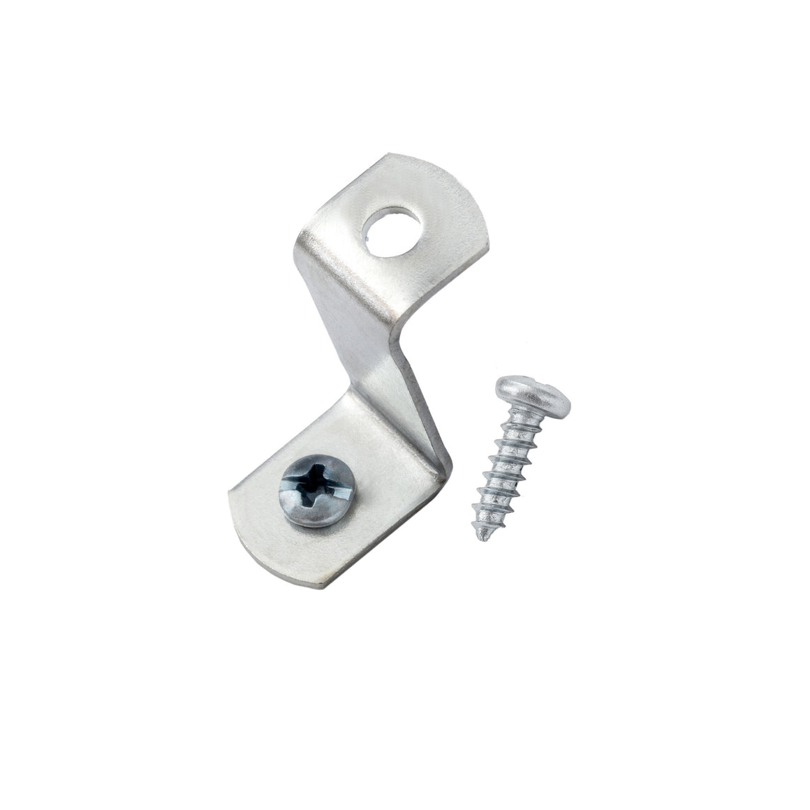 "1"" Offset Clips w/ Screws, Picture Hanging Hardware"