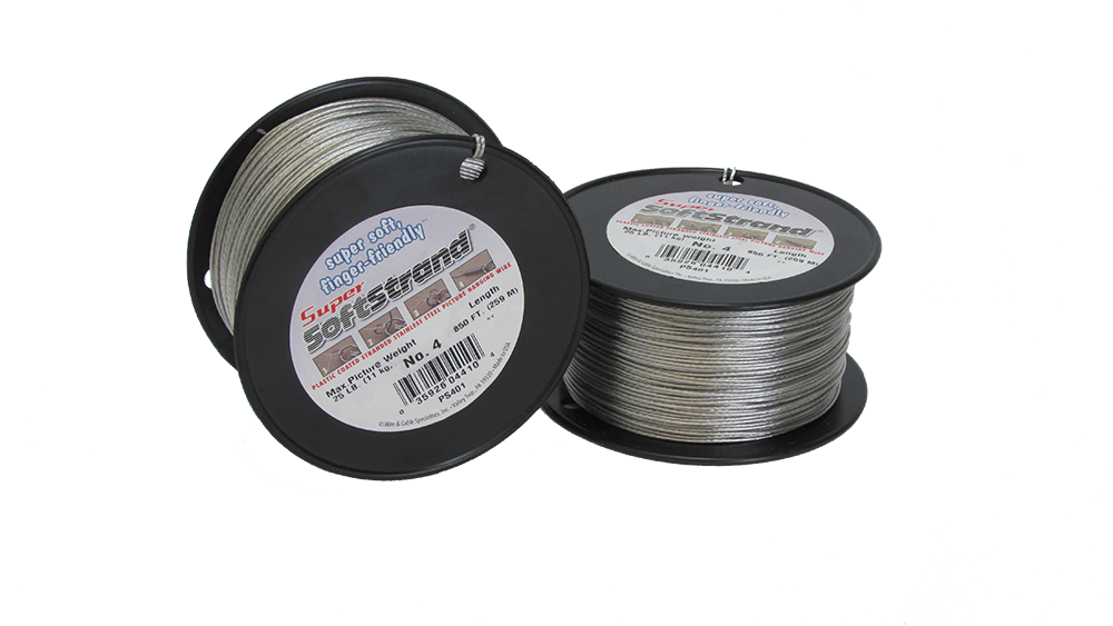 No 4 Super Softstrand Wire 850ft Wholesale Frame Company