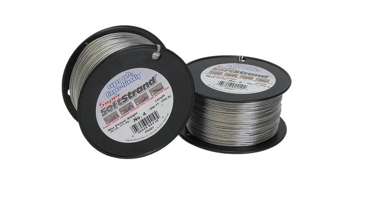 No. 4 Super Softstrand Wire - 850ft.