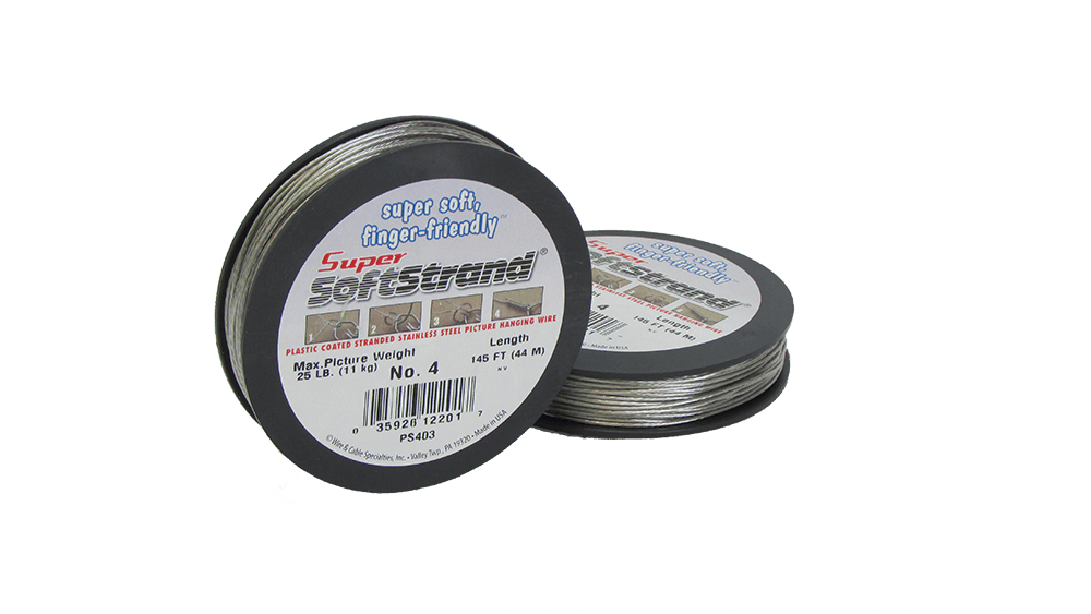No. 4 Super Softstrand Wire - 145ft.