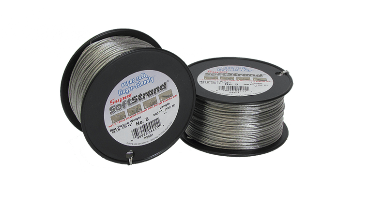 No. 5 Super Softstrand Wire - 500ft.