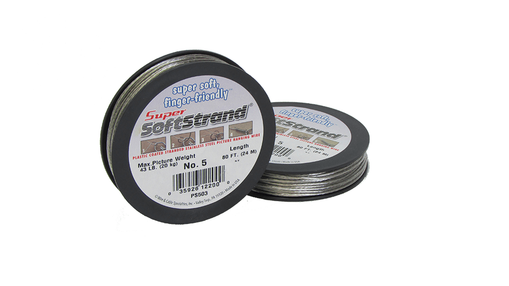 No. 5 Super Softstrand Wire - 80ft.