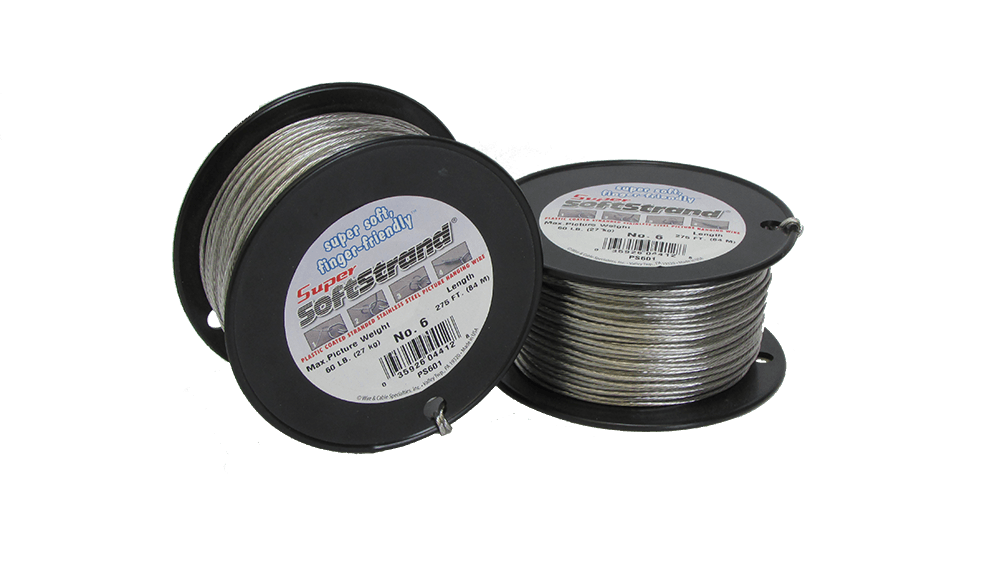 No. 6 Super Softstrand Wire - 275ft.