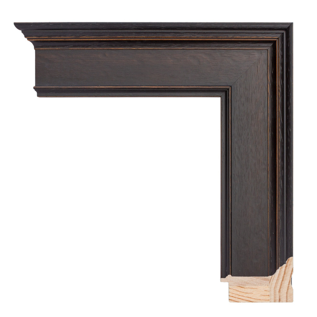 Dark Walnut Stain Wood Frame