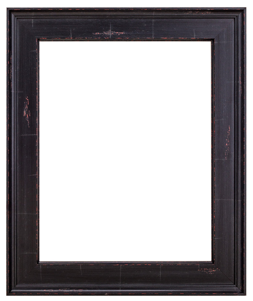 Black Frame with Red Undertones