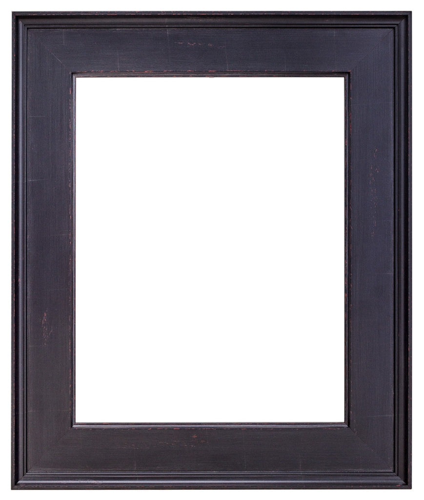 Black Frame with Red Undertones, artist frames