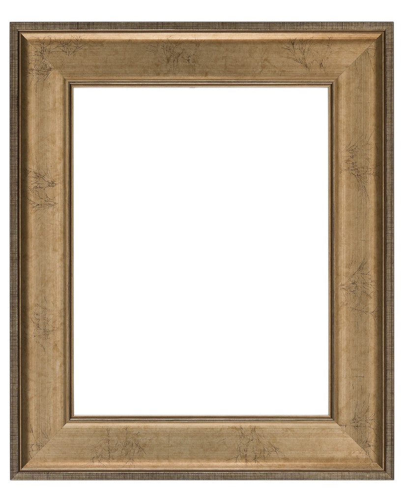 Crackled Silver Leaf Frame, Wholesale Artist Frame
