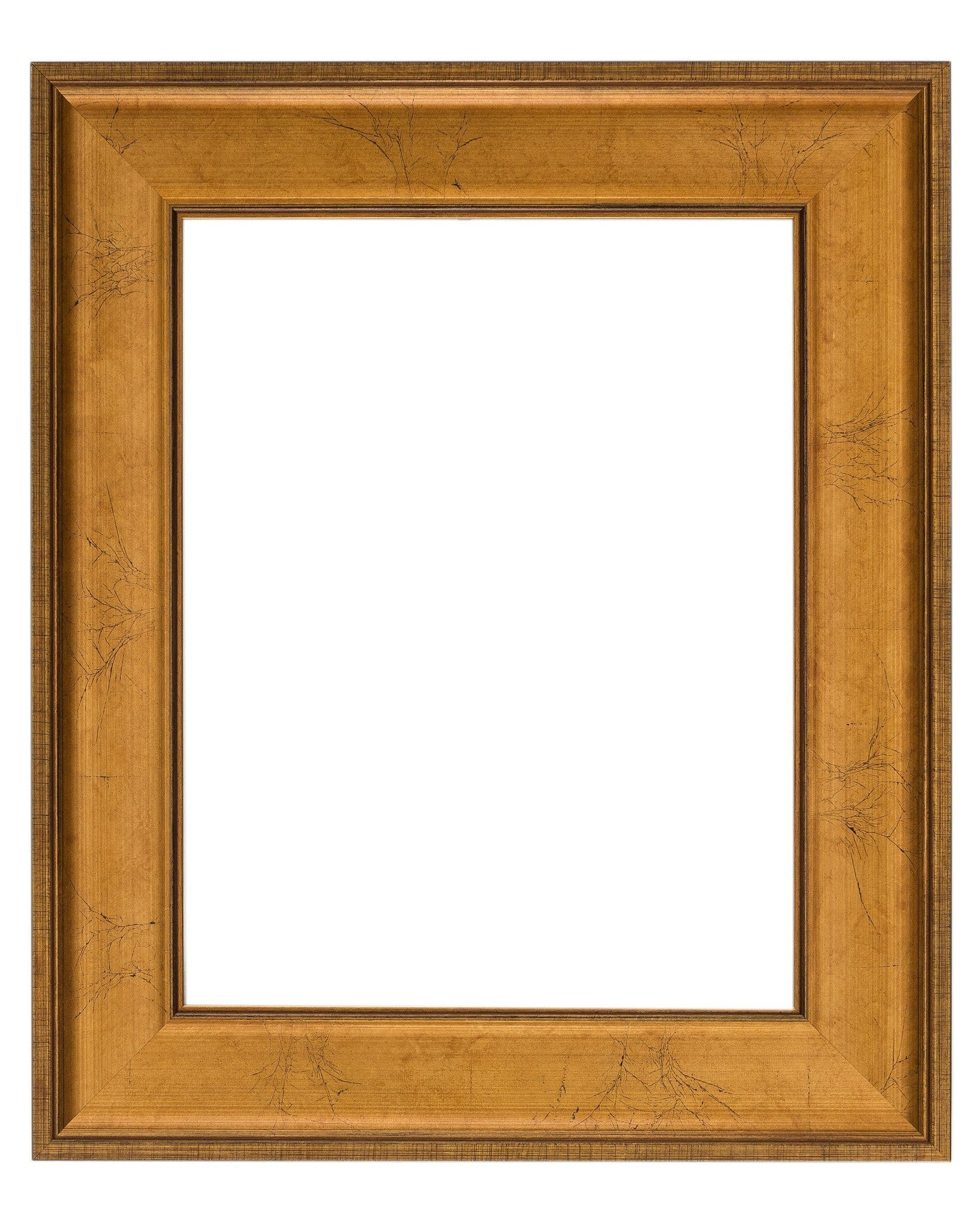 Crackled Gold Leaf Frame - Wholesale Frame Company