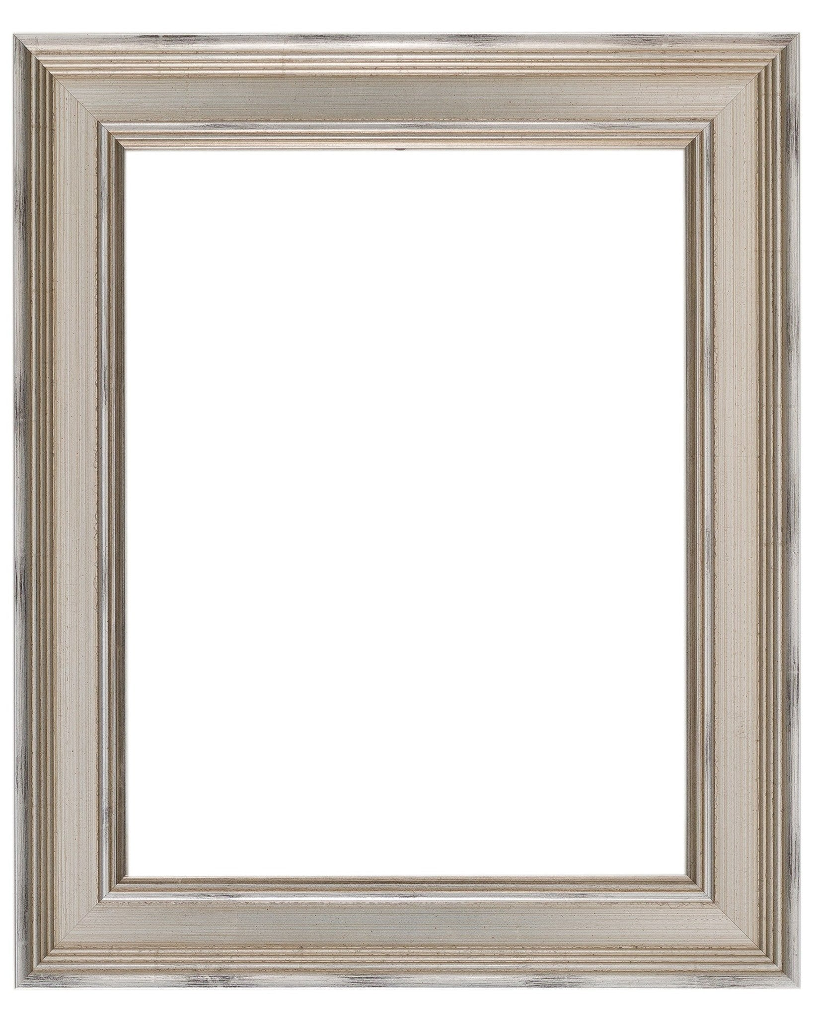 Silver Frame with Light Wash - Wholesale Frame Company