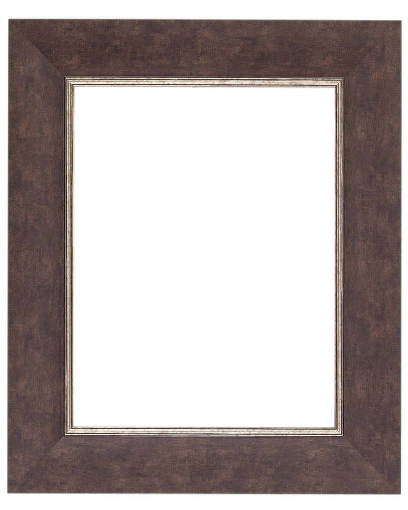 Oiled Bronze Frame with Silver Lip