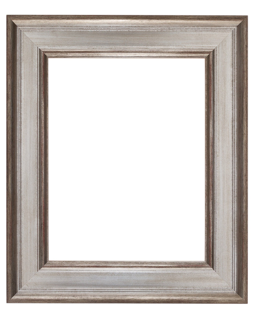 Antique Silver with Wax Finish, Artist Frame