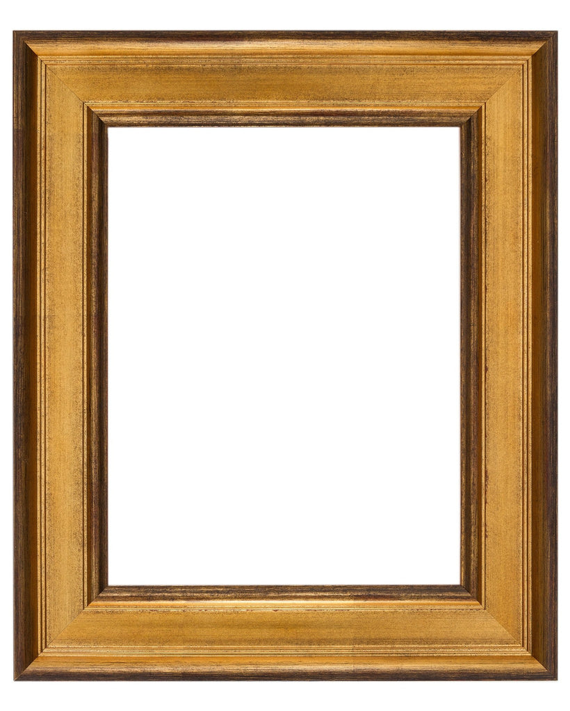 Antique Gold with Wax Finish, Artist Frame