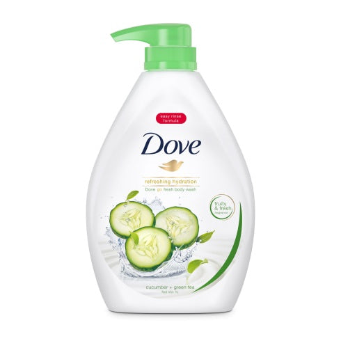 Dove Body Wash Refreshing Cucumber Green Tea 1L